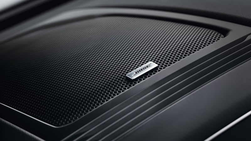 Renault KOLEOS - close-up of Bose speaker