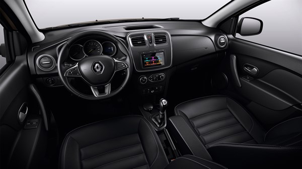 Renault SYMBOL - Black leather seats