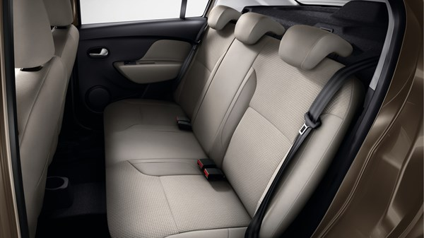 Renault SYMBOL - folding rear bench seat