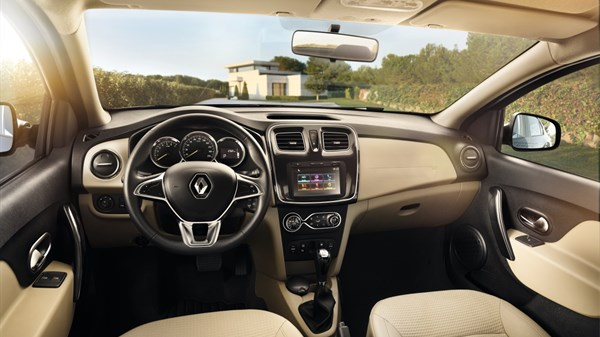 Renault SYMBOL - interior space
