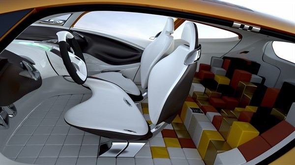 Renault R-SPACE Concept - front and rear cabin
